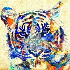The Beautiful Tiger - Cream Copyright © 2015 Stacey Chiew. All rights reserved.