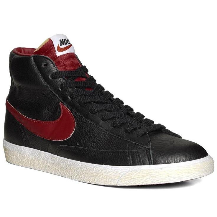 Nike Blazer Mid Premium - Pre Order (Black & Gym ...
