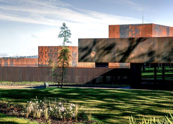 Key projects by Pritzker Prize 2017 winner RCR Arquitectes: Soulages Museum, 2014, Rodez, France