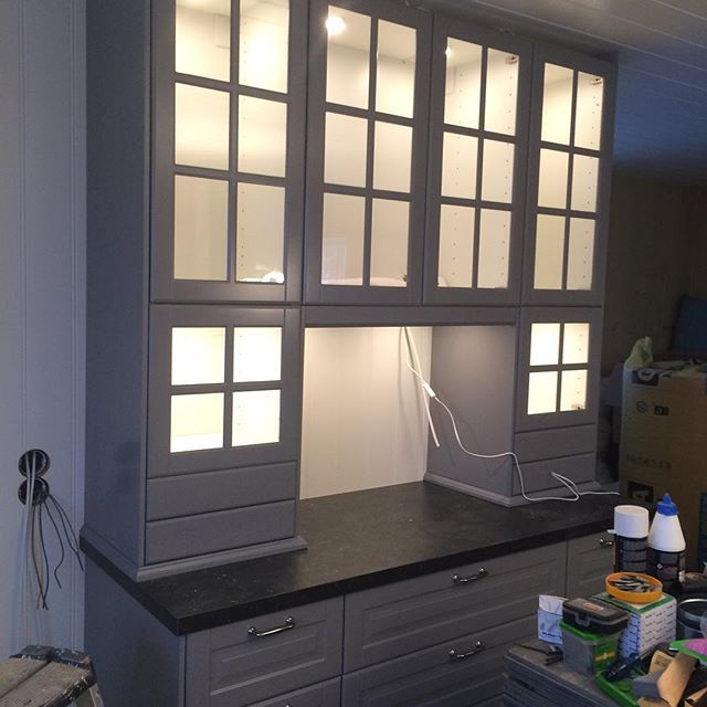 Ikea Blackboard Kitchen