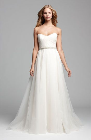 Fairytale Bride Look #2 - NOUVELLE Amsale tulle ballgown at Nordstrom #wedding