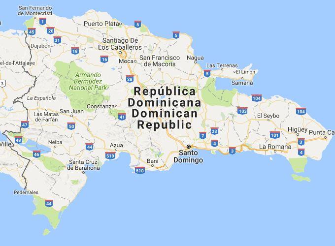 Satelitní mapa Dominikánské republiky, jejích destinací a zajímavých míst vám pomůže se rychle zorientovat a nalézt vše, co hledáte.