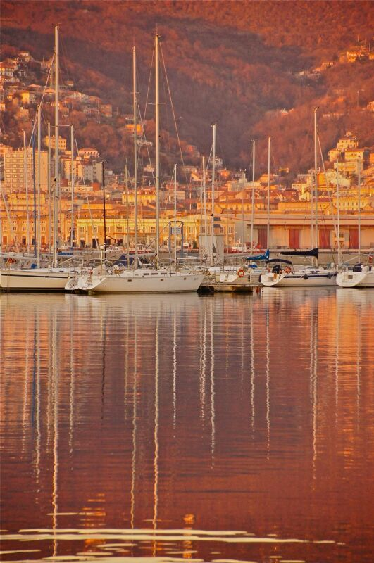 Trieste, Italy...great grandma sailed to America from this port.