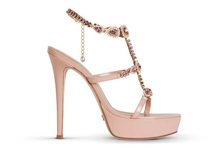 SANDALO GIOIELLO 1277 ‹ Mascia Mandolesi, scarpe da sposa e cerimonia online, sandali gioiello, wedding shoes, luxury shoes, jewel sandal Made in Italy