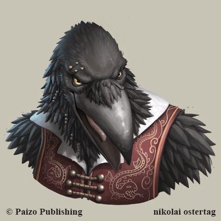 Pathfinder - Tengu by NikolaiOstertag on DeviantArt