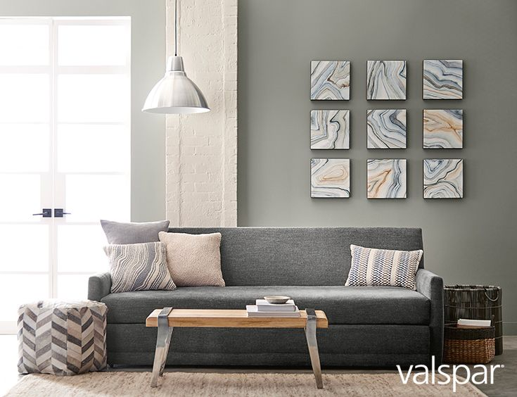 Nature knows best this year s must have neutral gray is for Neutral gray paint for living room