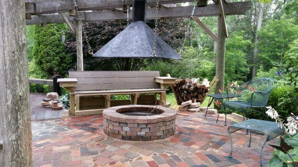 Best Home Exquisite Fire Pit Hood On Chimney Home Interior Indoor