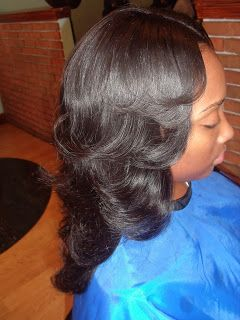Tress Art: Sew it up, partial sew-in weave