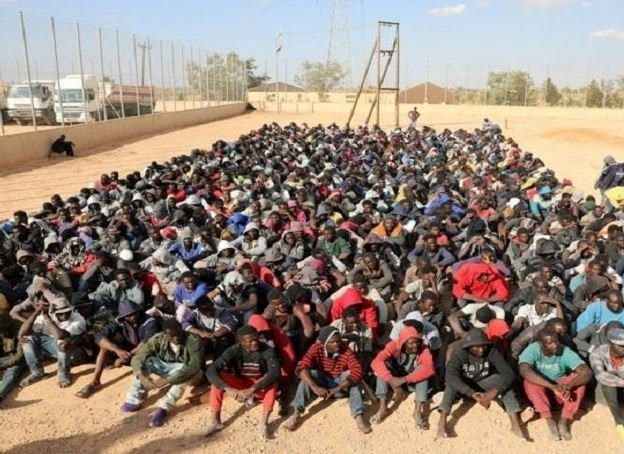 The African Union (AU) has agreed to evacuate some 15000 African migrants in Libya before the end of year the deputy chairman of the AU Commission Kwesi Quartey has tweeted.  The repatriations would be voluntary and would be done in partnership with the International Organisation for Migration (IOM) he added. At least 20000 migrants are being held in government detention centres in Libya Mr Quartey said.  The move follows reports that migrants are being sold in slave markets in the North…