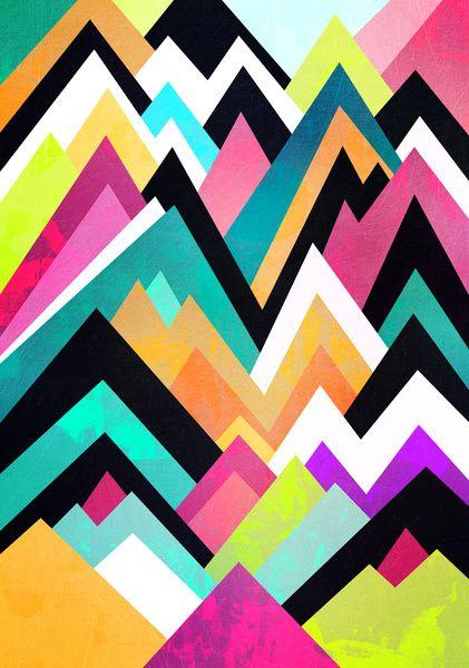 Where colors grow Art Print