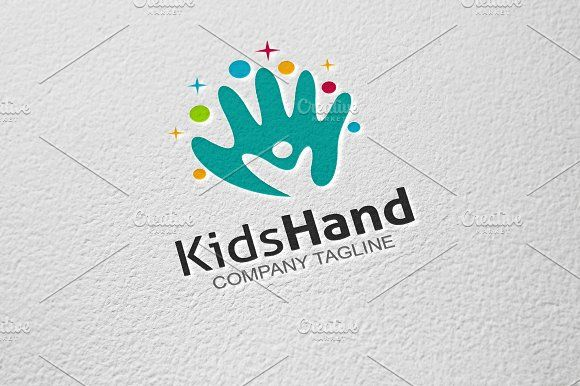 Kids Hand by GoldenCreative on @creativemarket