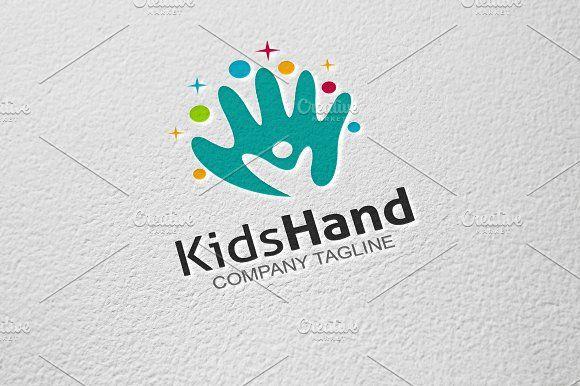 Kids Hand by GoldenCreative on @creativemarket