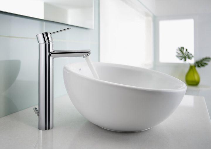 http://www.edenhogar.com/es/griferia-lavabo/roca-targa-grifo-lavabo-ca%C3%B1o-alto-5a3460c00.html  Roca Targa Grifo de lavabo de caño alto con desagüe automático
