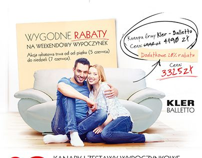 """Check out new work on my @Behance portfolio: """"OutletMeblowy.pl - e-mailing for furniture e-shop."""" http://on.be.net/1KCBU50"""