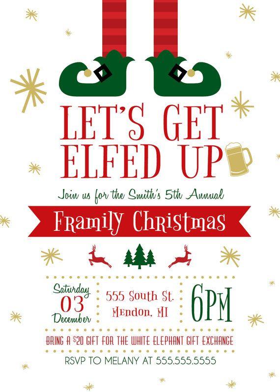 Best 25+ Christmas invitation card ideas on Pinterest Winter - free printable christmas flyers templates
