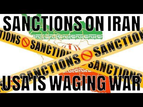 Sanctions On Iran Usa Is Waging War David Icke War Wage Peace