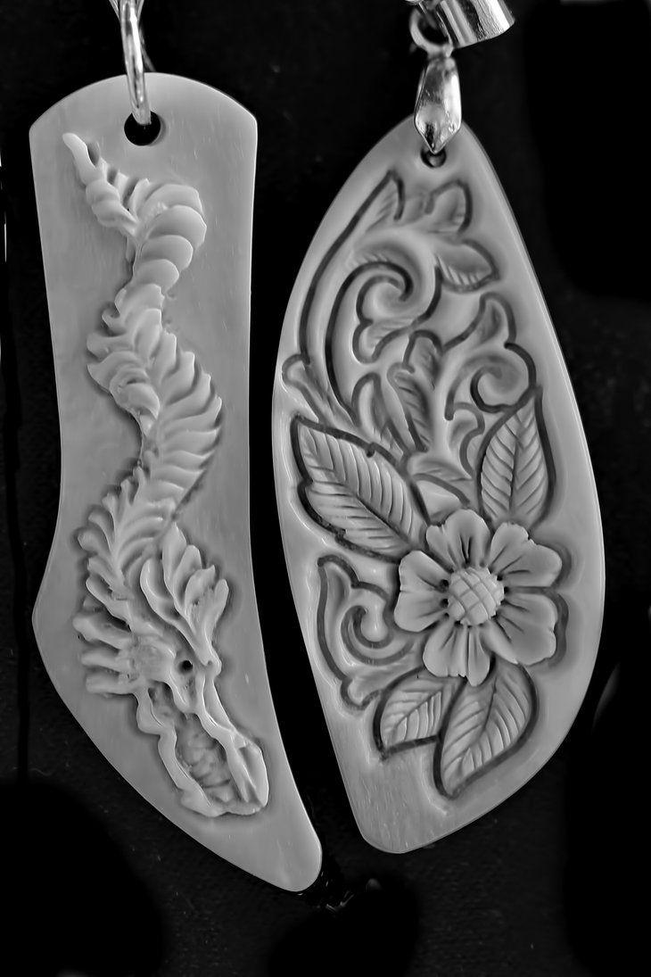Best bone jade wood carved pendants images on