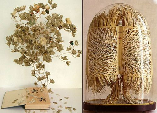 Sue Blackwell and Georgia Russell book art.