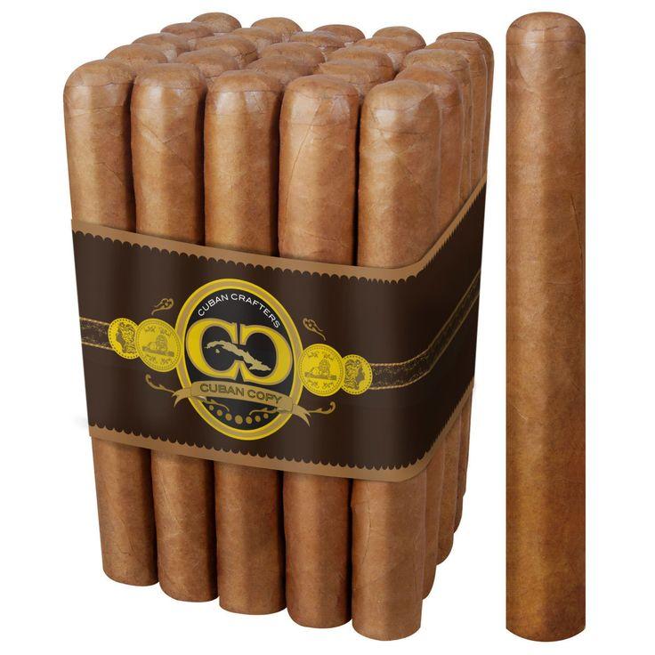 CubanCrafters - Cuban Copy Habano Cigar Sublime 6 1/2 X 52 - Bundle of 25, $49.99 (https://www.cubancrafters.com/cuban-copy-habano-cigar-sublime-6-1-2-x-52-bundle-of-25/)