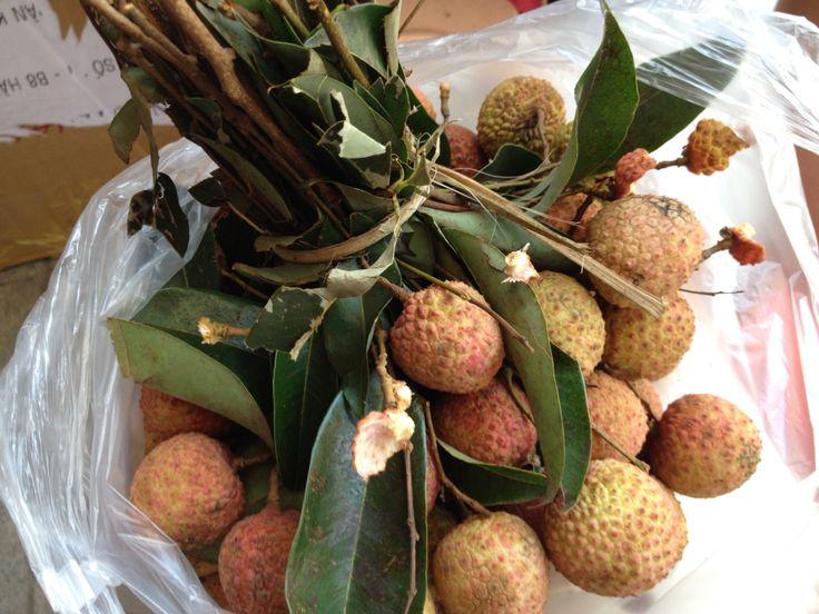 Yummy lychee in Hanoi
