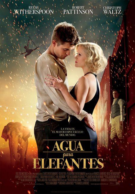 AGUA PARA ELEFANTES (DVD + BLU-RAY + COPIA DIGITAL). Dirección: Francos Lawrence