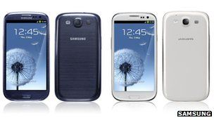 Samsung Galaxy S3 smartphone unveiled