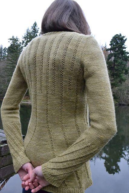 Ravelry: Emanating Sweater pattern by Samantha Kirby