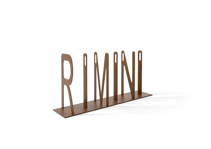 "Fluxus Bike Rack ""RIMINI"" Designer: Roberto Semprini"