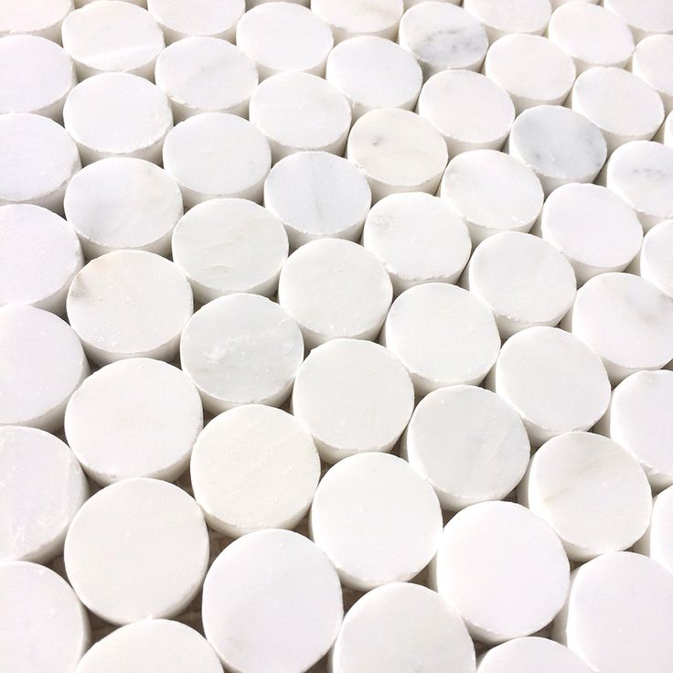alya stone tile bianco carrara marblepenny round marble wall and floor mosaic and backsplash