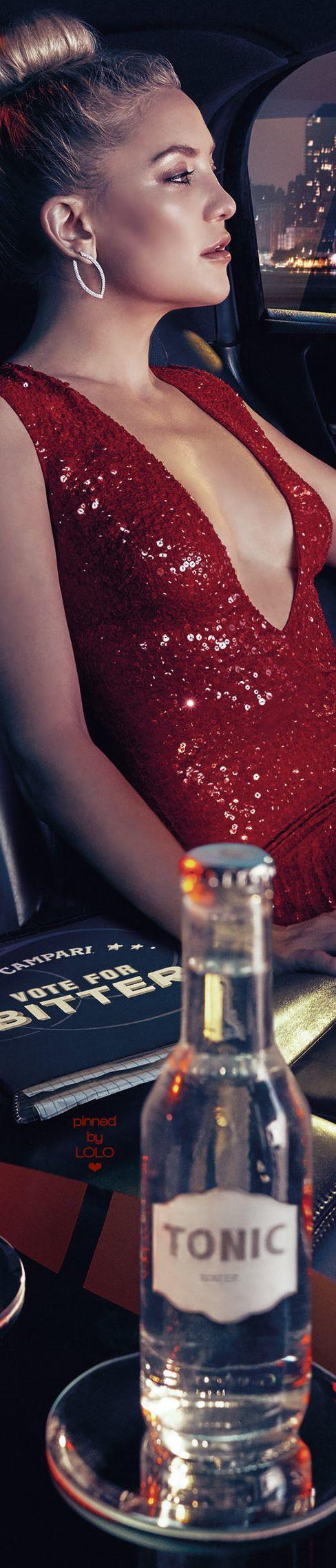 Kate Hudson for Campari 2016 Calendar | LOLO❤︎
