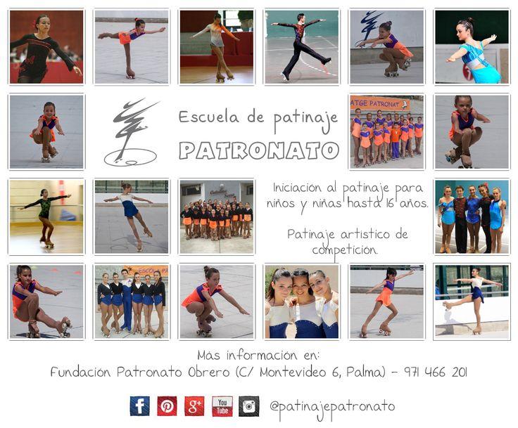 En el Patronato encontrarás clases de Iniciación al Patinaje Artístico para niños y grupos de entrenamiento para patinadores de competición de todos los niveles.