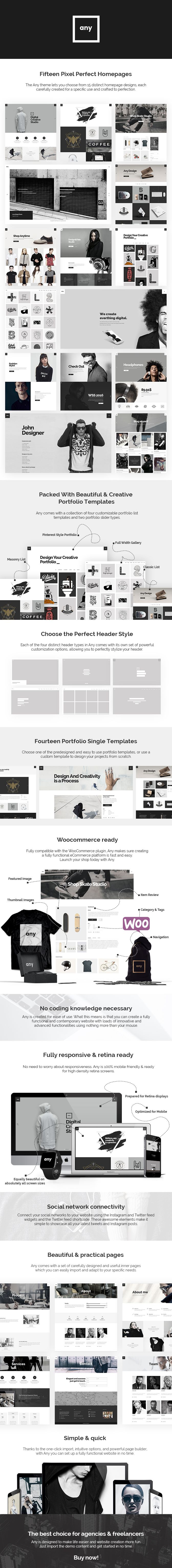 Theme Features   Easy-to-Use Powerful Admin Interface One-click import of demo site Loads of creative home and inner pages Large collection of custom shortcodes Multiple customizable layouts for...