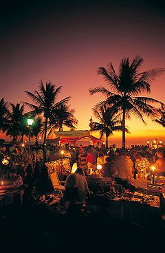 Darwin Sunset Markets at Mindil Beach