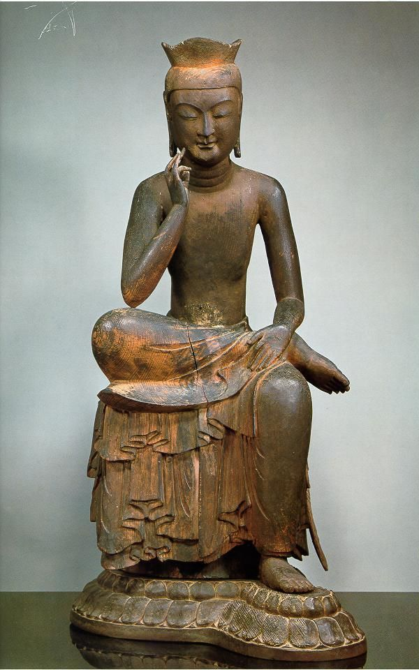 Spread of Buddhism- Buddhist Statue found as far North as Japan