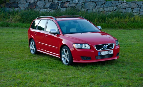 2012 Volvo V50. I'll take one in silver, please & thank you!