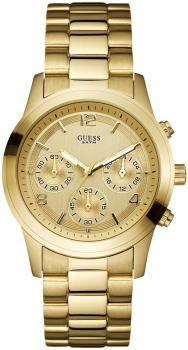 $252 Reloj mujer Guess dorado circular