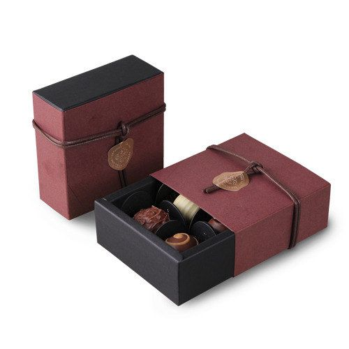4 sets for 4pcs chocolates Brown Chocolate packaging box,chocolate boxes,chocolate gift box,gift box,candy box,Valentine's day,chocolates by CookieboxStore on Etsy