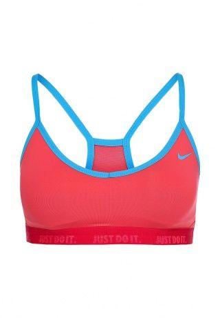 Топ Nike выполнен из высокотехнологичной ткани с использованием функции Dri-Fit. Детали: прилегающий крой, V-образный вырез, тонкие бретели, вставка из сетчатого текстиля на спинке, эластичная вставка по низу, подкладка, логотип марки. http://j.mp/1rEUv9M
