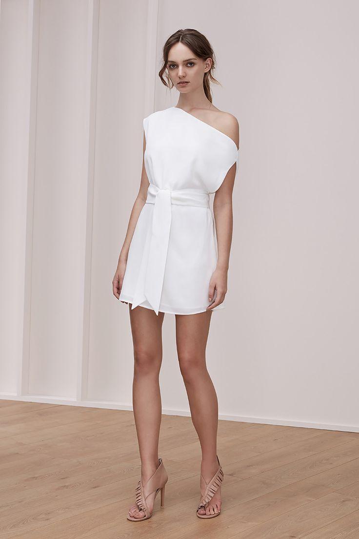 Keepsake Meadows Mini Dress Ivory
