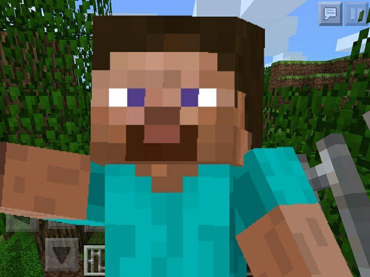 Steve does selfi | Minecraft | Pinterest