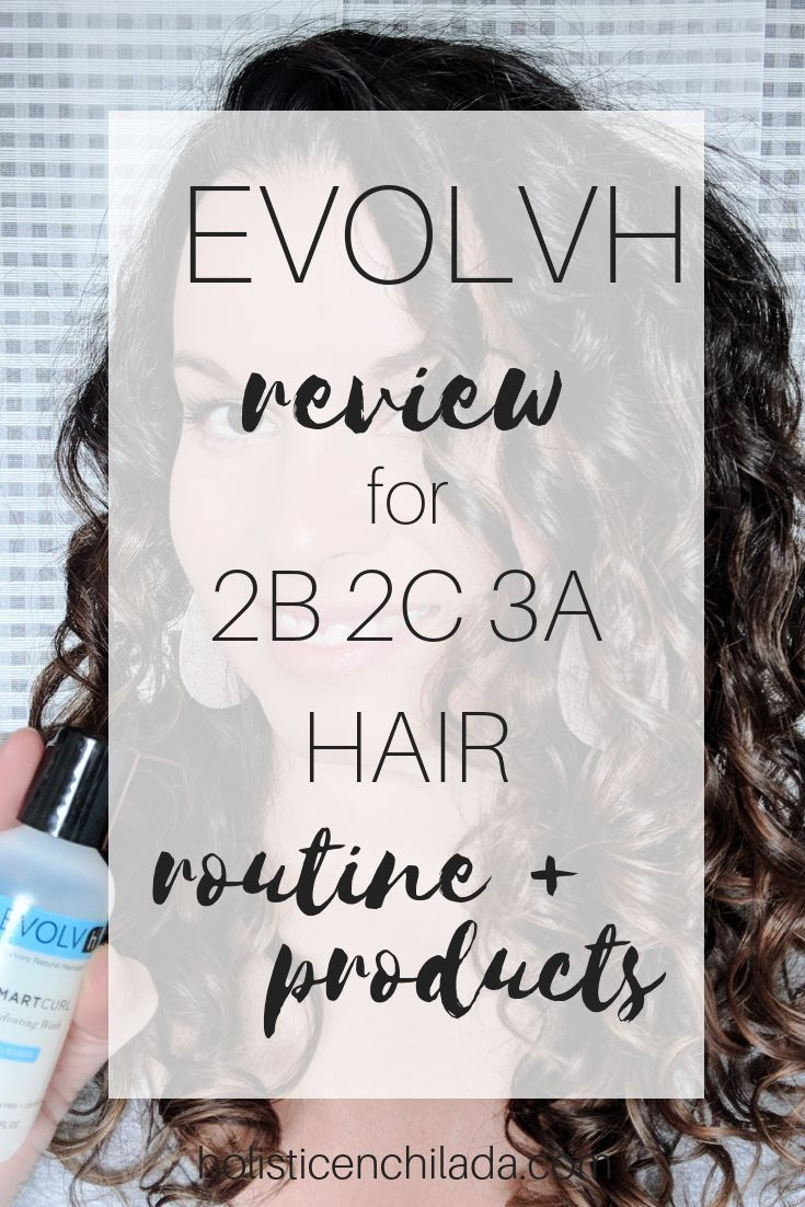 Evolvh Review For Curly Hair 2c 3a Curly Girl Method With