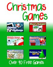 Free Computer Christmas Games.  Fun!