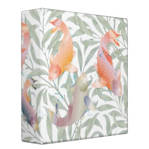 17 best images about recipe specialty binders on for Rainbow koi fish