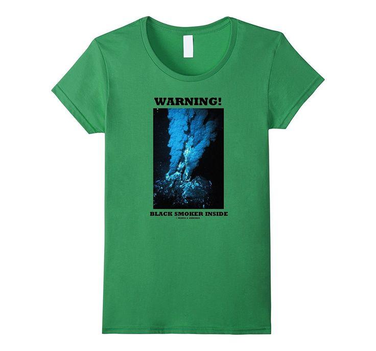 Warning! Black Smoker Inside Hydrothermal Vent Geek Humor