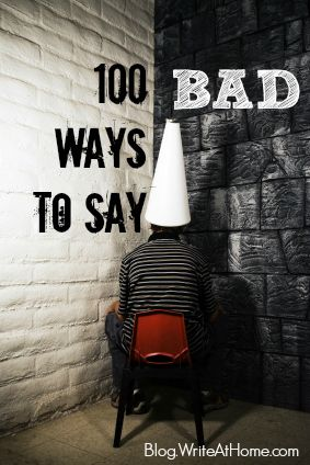 100 ways to say BAD... with definitions
