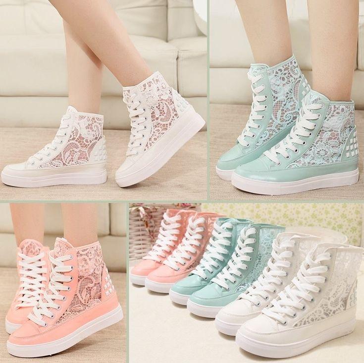 zapatillas lindas