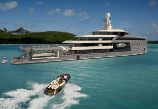 SeaXplorer expedition yacht concept