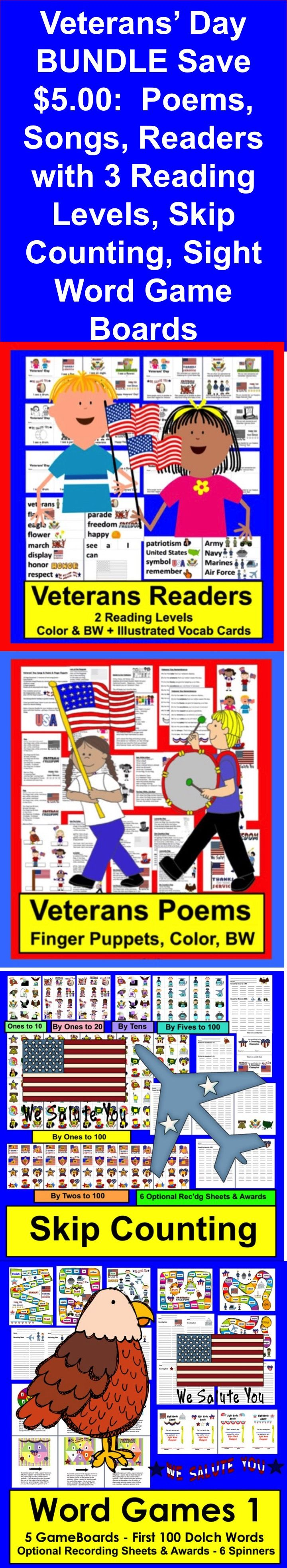 best ideas about veterans day poem veterans day veterans day activities math and literacy bundle value save 5 00