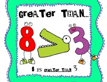 76 best greater thanless than images on pinterest teaching math greater than less than equal to posters publicscrutiny Gallery