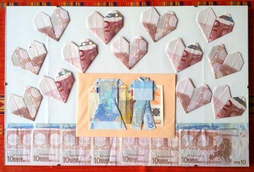 Money origami - makes giving money more original :)